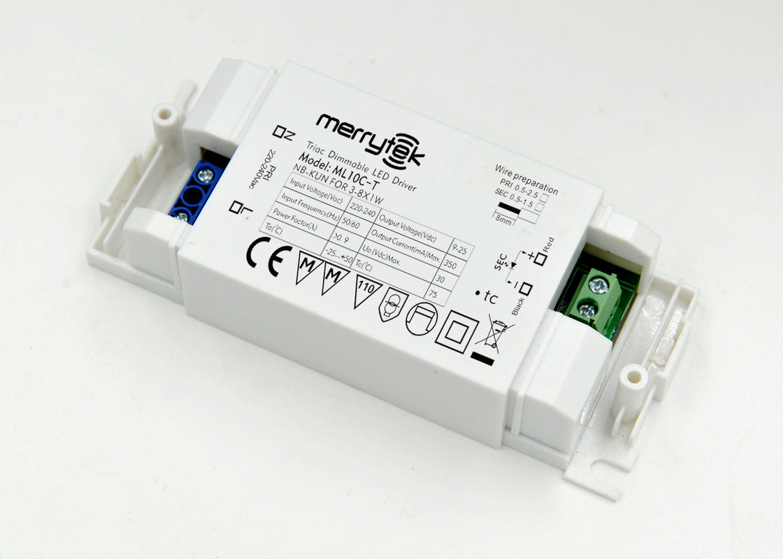 10w 320mA Constant Current Triac Dimmable LED Driver / Triac Lamp Dimmer