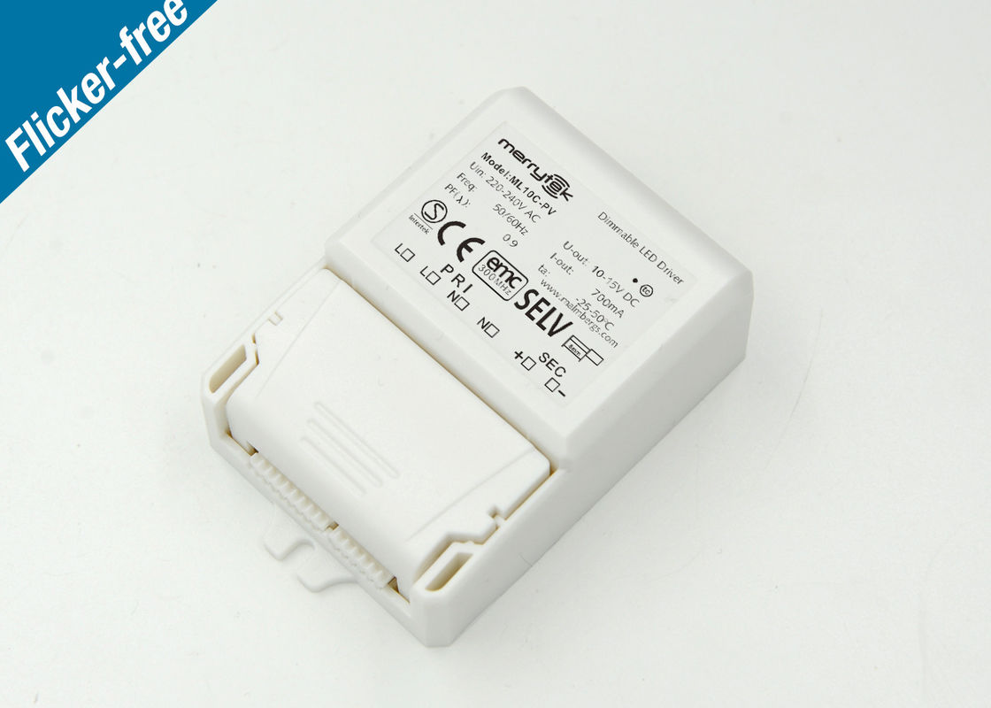 1x10w Push / 1-10v LED Dimmer Switch / High Efficiency LED Driver 0-10V